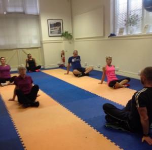 Fun fitness classes in the studio 4
