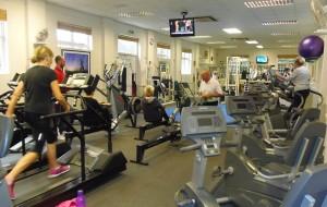 main gym area